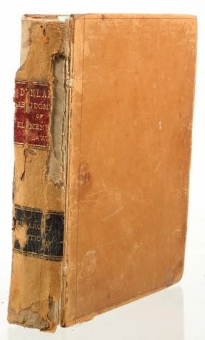 DUNLAP, M.E. - Abridgment of Elementary Law [etc.]