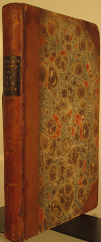 BRANCH, THOMAS - Principia Legis & Aequitatis: Being an Alphabetical Collection of Maxims, Principles or Rules, Definitions, and Memorable Sayings in Law and Equity. And the Latin Maxims and Rules Translated, by John Richardson, Esq. of Lincoln's Inn. Fifth Edition